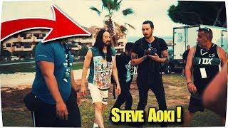 conozco a steve aoki en el arona summer festival 2017 😱 epic vlog en tenerife