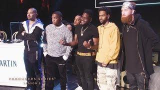 Big Sean, Mustard & DJ Envy at the Rémy Martin Producers Series Finale
