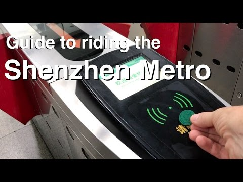 How to Ride the Shenzhen Subway