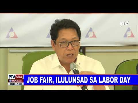 Job Fair, ilulunsad sa Labor Day