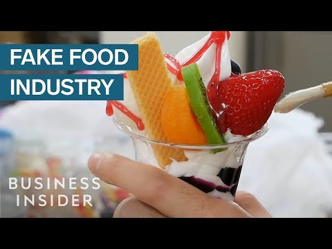 How Fake Food Became A $90 Million Industry In Japan