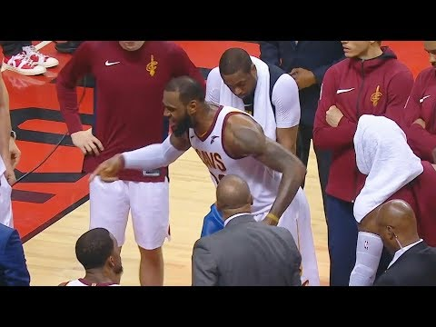 LeBron James RIPS Cavaliers Teammates for GETTING BLOWN OUT! Cavaliers vs Raptors