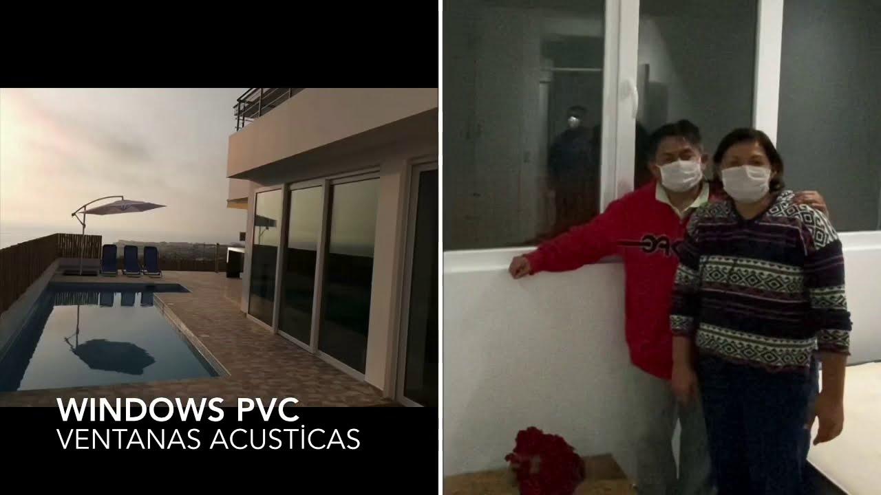 VENTANAS DE PVC ACUSTICAS
