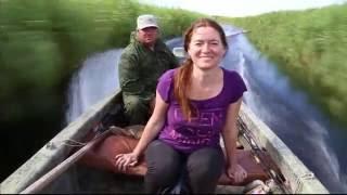Ролик -  по каналам и лиманам Азовского моря