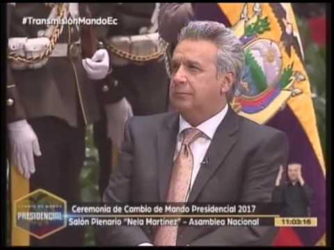 Ecuador tiene nuevo presidente, Lenín Moreno Garcés