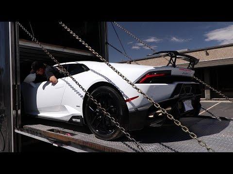Delivering the new FASTEST Lamborghini in...