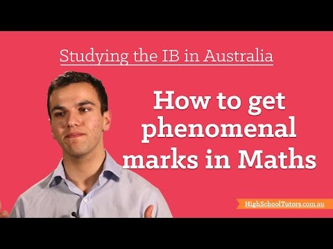 Studying The IB In Australia: Getting Great Marks In Maths