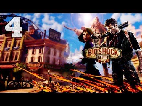 Смотреть прохождение игры Bioshock Infinite. Серия 4 - Дирижабль пророка. [Art let's play]