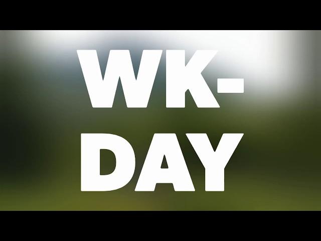WK-days intro