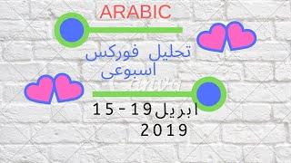 15 - 19 April 2019  Arabic تحليل فوركس عربي