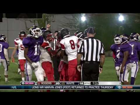 Rogers vs. Waite High School Football