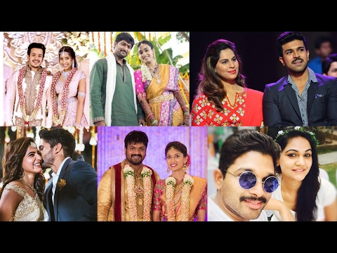 Love Marriages Of Tollywood Heroes