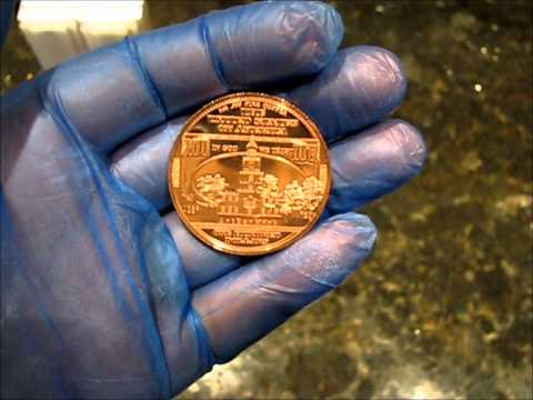 $100 Benjamin Franklin .999 Fine Copper Bullion