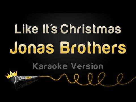 Jonas Brothers - Like It's Christmas (Karaoke Version)