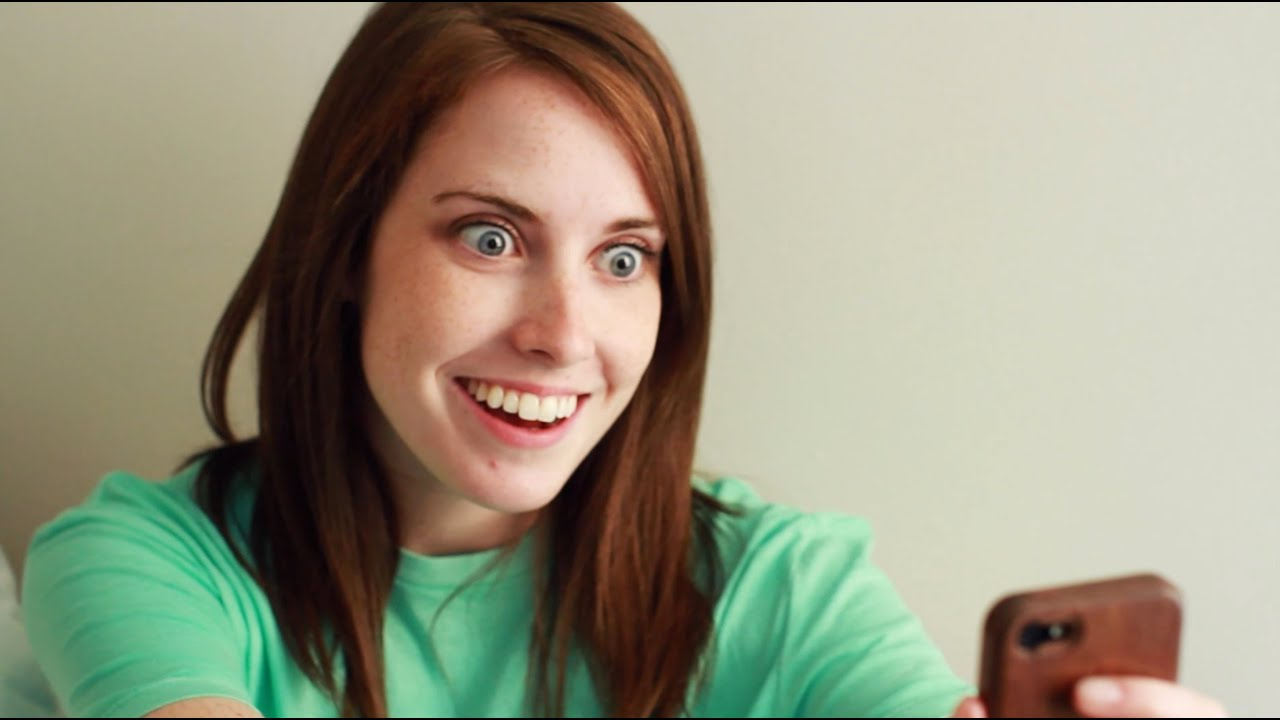 Overly Attached Girlfriend Meets Bad Luck Brian  YouTube