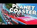 PLANET COASTER Alpha Gameplay | BEST THEME PARK / ROLLER COASTER GAME ON THE PLANET!