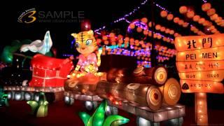Full HD 1080p Music Viedo HD台灣燈會星空燦光輝-嘉義燈會-影片素材拍攝K013