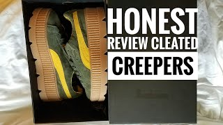 Fenty puma cleated creepers review/ try on
