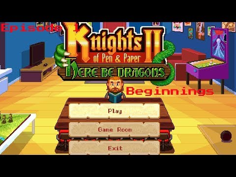 Knights of Pen and Paper 2 ep.1 |
