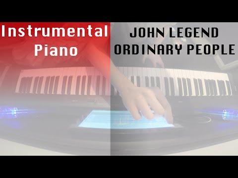 Reckluse - Ordinary People John Legend Piano Instrumental