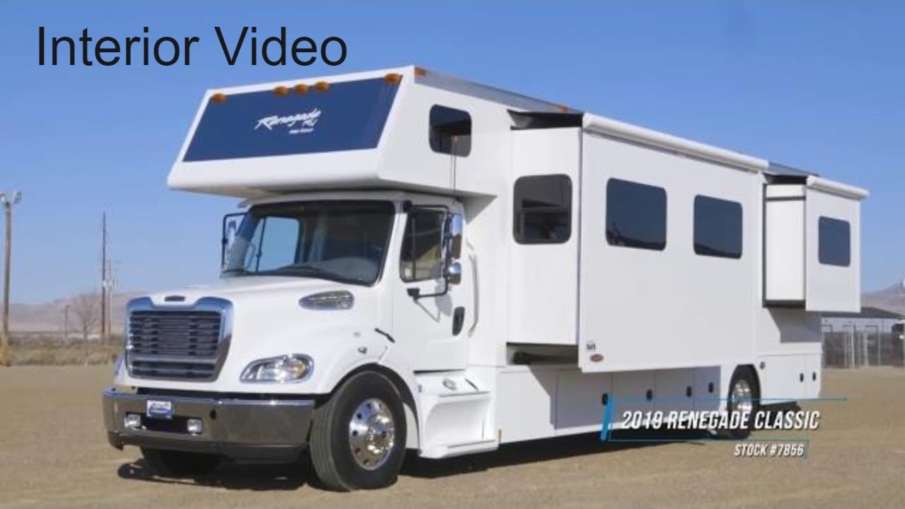 2019 Renegade Classic Interior - Freightliner M2-112 Chassis - IWS  Motorcoaches Stock 7856