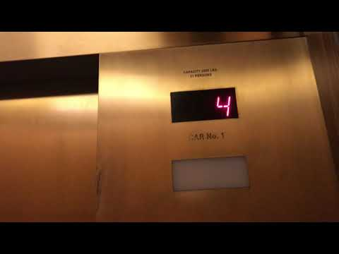 Schindler Garage Elevator (2-6) at the Rivers Casino in Pittsburgh, Pennsylvania (Going Down)