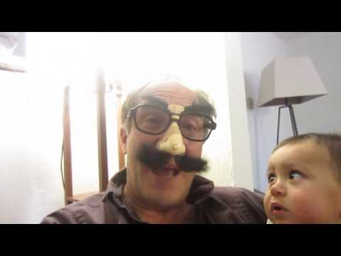 Wind-up Groucho Glasses