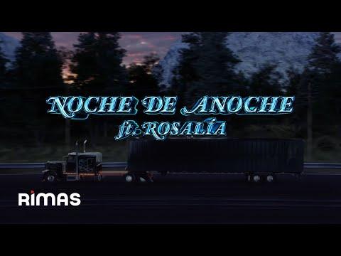 Bad Bunny y Rosalía se unen en un sensual tema: La Noche de Anoche
