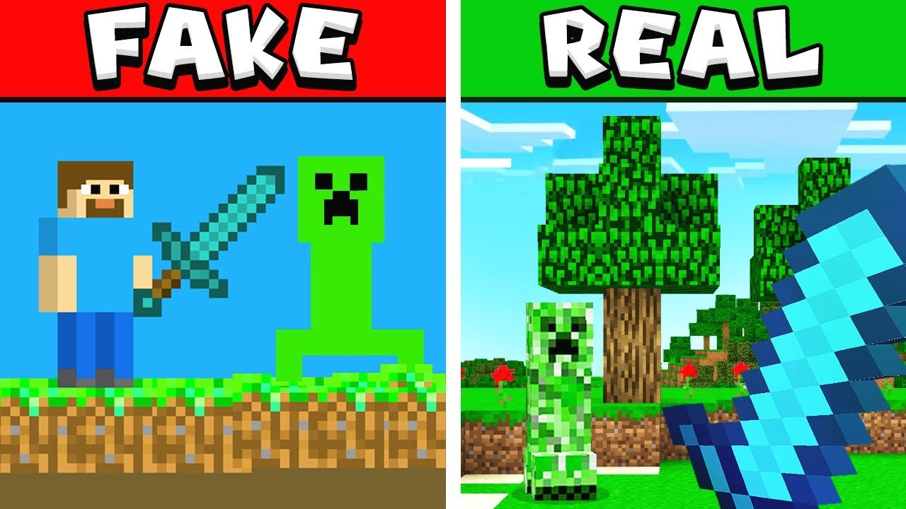 fake minecraft games