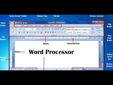 What is Word Processing Software ?