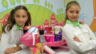 AhCiciKız Hava Yolları Barbie Uçak Oyunu