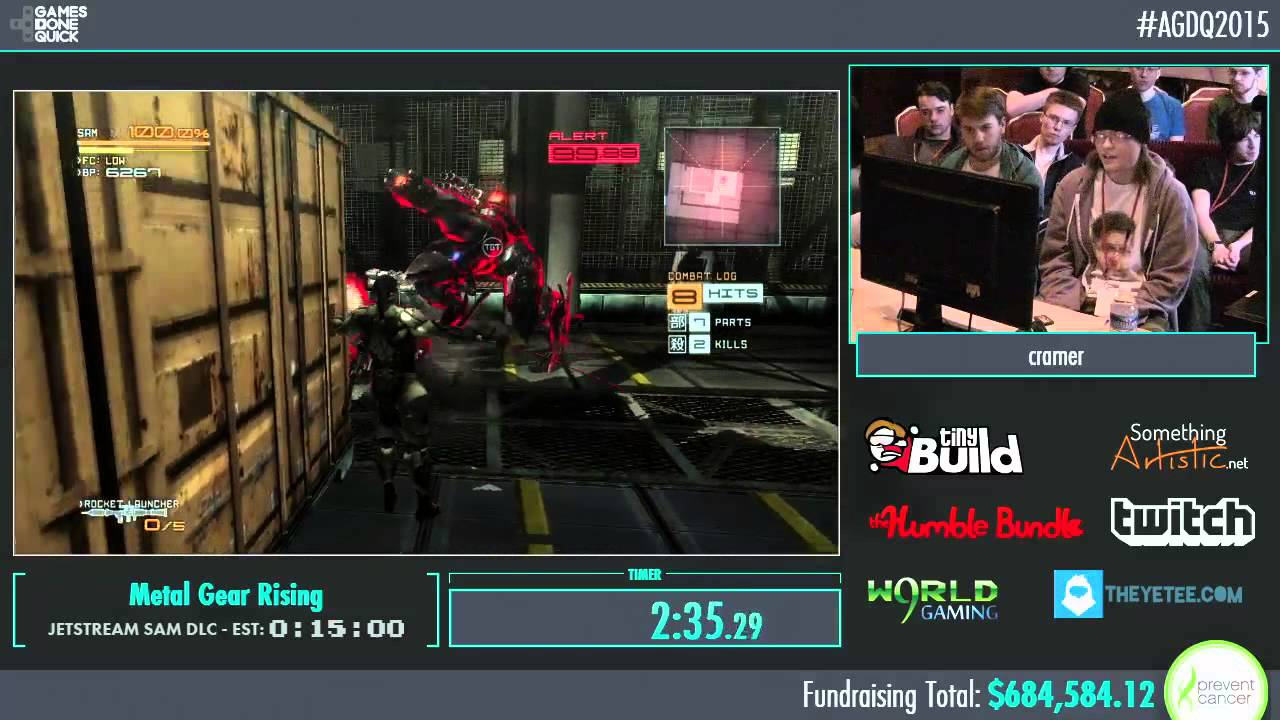Awesome Games Done Quick 2015 Part 159 Metal Gear