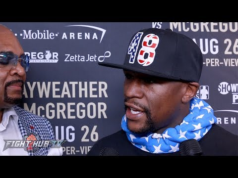 "Thumbnail: Floyd Mayweather ""I'm extremely rusty! I'm not looking the same! Not as fast as I use to!"""