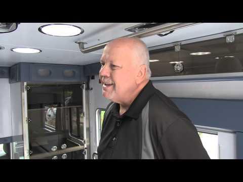 Bob Lemieux takes SIRENNET on a tour of a new Horton Ambulance