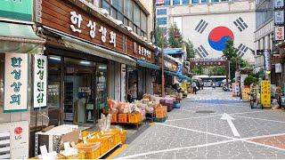 [4K Walk Views] 서울 약령시장과 경동시장 …