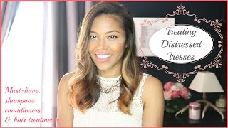 TREATING DISTRESSED HAIR | AMERIIE Thumbnail