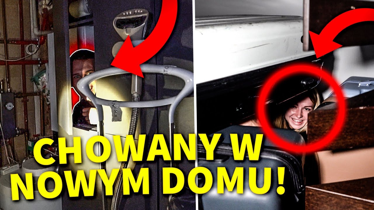 PIERWSZY CHOWANY W NOWYM DOMU EKIPY!