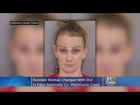 Dundalk Woman Charged With DUI In Fatal Baltimore County Motorcycle Crash