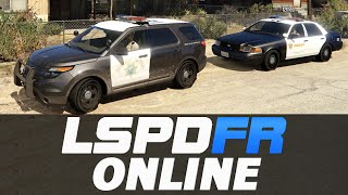 GTA 5 LSPDFR Mod Online - California Highway Patrol