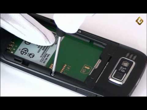 Nokia E72 - как разобрать телефон и из чего он состоит