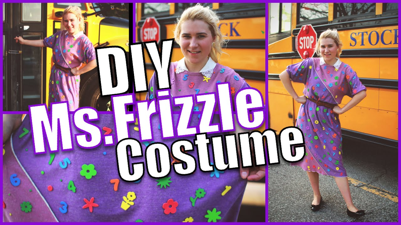 diy ms frizzle halloween costume