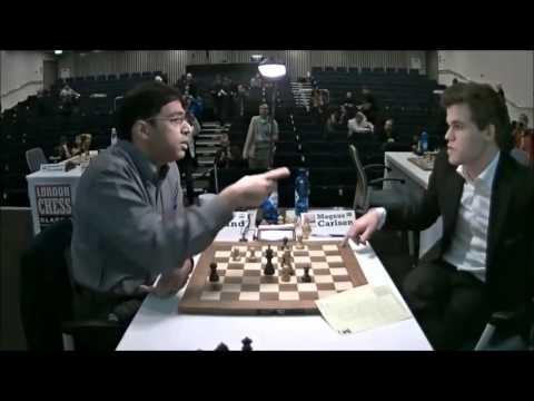 Carlsen e Anand dão risada de empate