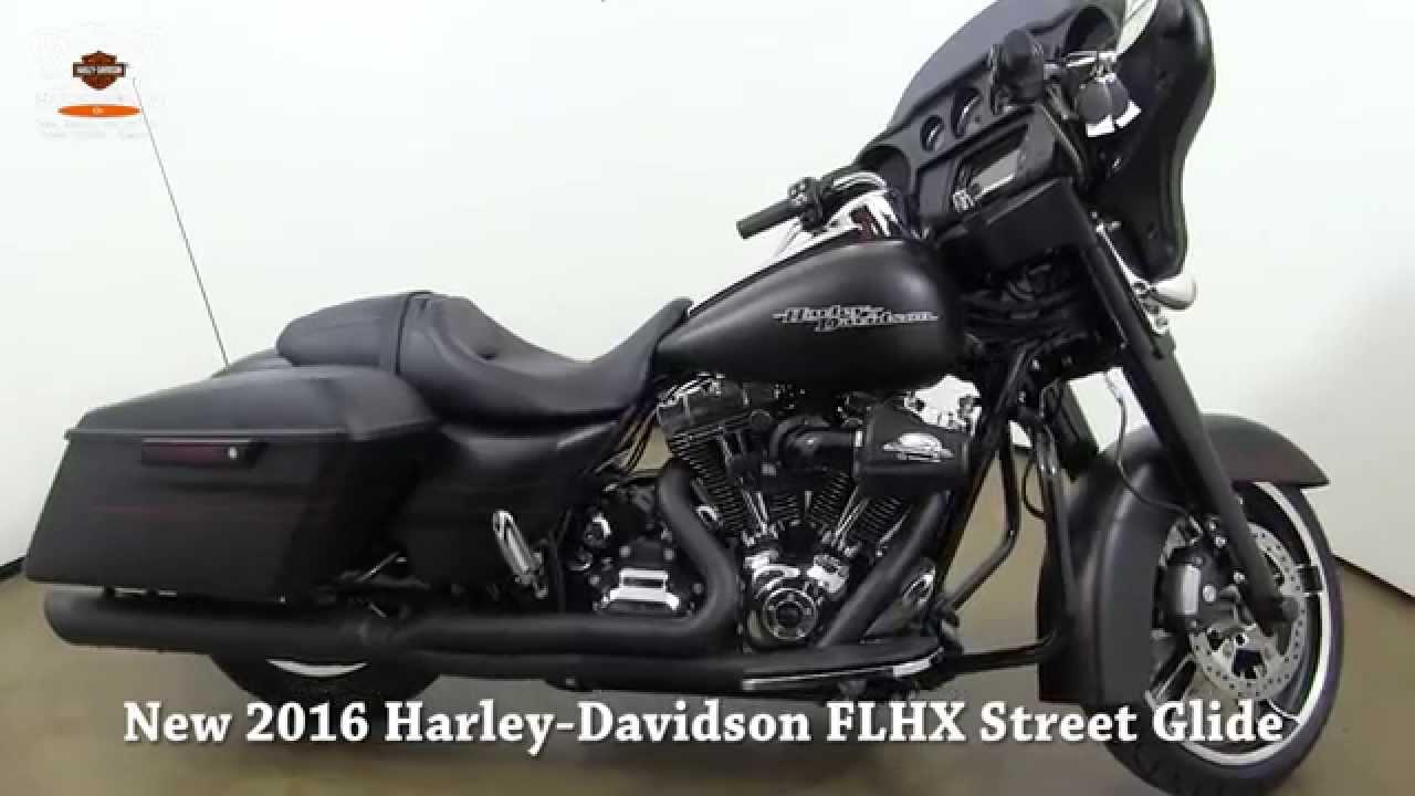 New 2016 Harley Davidson Flhx Street Glide For Sale In