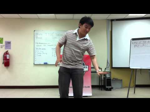 My Passion (Division G Table Topics Contestant #3) from YouTube · Duration:  2 minutes 22 seconds