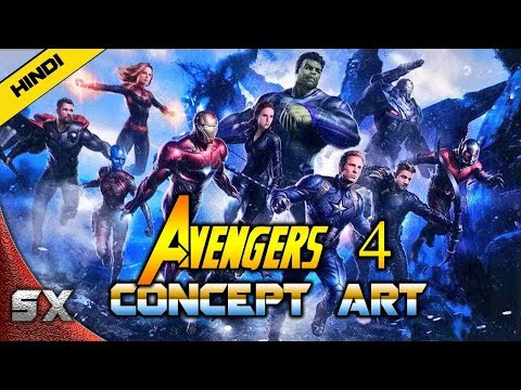 Avengers 4 Concept Art Revealed | First Look Breakdown | Hindi | Super Xpose
