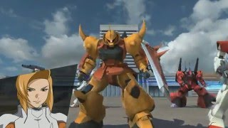 gundam extreme vs force walkthrough zeta mission 4   heine s gouf ignited gameplay hd