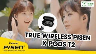 True Wireless PISEN X pods T2