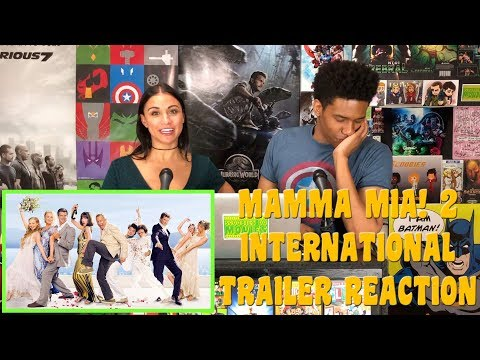 MAMMA MIA! HERE WE GO AGAIN Trailer Reaction (International)