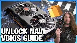 AMD GPU VBIOS Flash Tutorial & Bricked Card Recovery   Unlock Navi Performance
