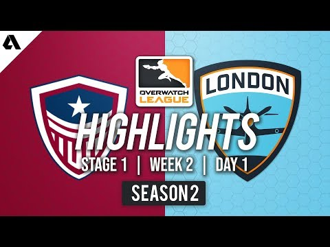 Washington Justice vs London Spitfire | Overwatch League S2 Highlights - Stage 1 Week 2 Day 1 thumbnail